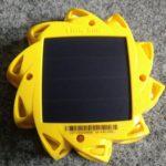 Little Sun Original - Rückseite mit Solarmodul