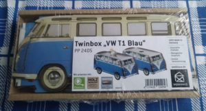 """Bild der WERKHAUS Twinbox """"VW T1 Blau"""""""
