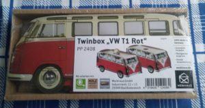 """Bild WERKHAUS Twinbox """"VW T1 Rot"""""""