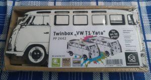 """Bild derTwinbox """"VW T1 Hippie"""""""