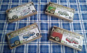 Bild mit vier verschiedenen Twinboxen VW T1