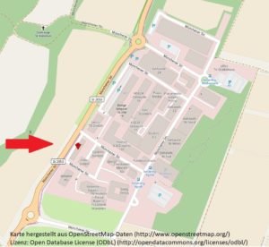 Karte von Ismaning, Münchener Str. 101